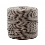 Hilo nylon S-Lon 0.6mm taupe