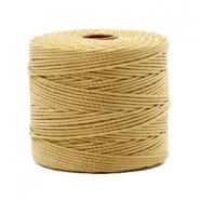 Hilo nylon S-Lon 0.6mm marrón bronce claro