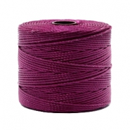 Hilo nylon S-Lon 0.6mm rojo wineberry