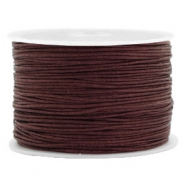 Hilo macramé 1.0mm marrón Tawny