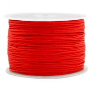 Hilo macramé 1.0mm rojo candy