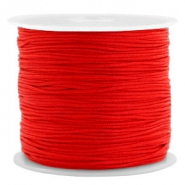 Hilo macramé 0.8mm rojo candy