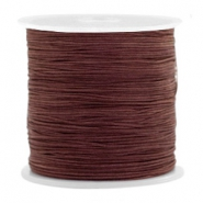 Hilo macramé 0.5mm marrón Tawny