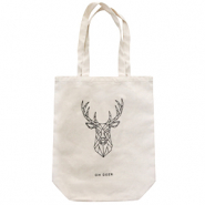 "Bolsos Fashion canvas ""oh deer"" Blancuzco"