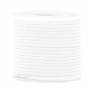 Cordón trendy surf redondo 2mm blanco