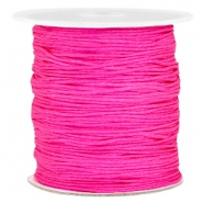Hilo macramé 1.0mm rosa hot