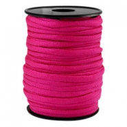 Cordón trendy Paracord 4mm fucsia