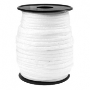 Cordón trendy Paracord 4mm blanco