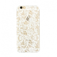 Funda de móvil para iPhone 6 Plus lace transparente - blanco